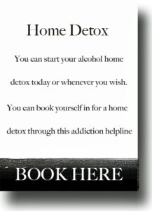 Crack cocaine home detox